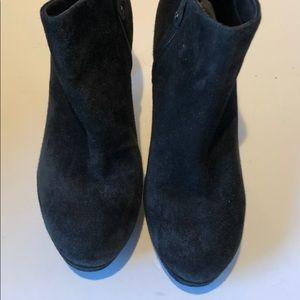 Rockport Shoes - Rockport Black Suede Badass But Comfy Booties